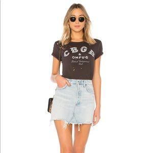 Agolde Quinn High Rise Skirt